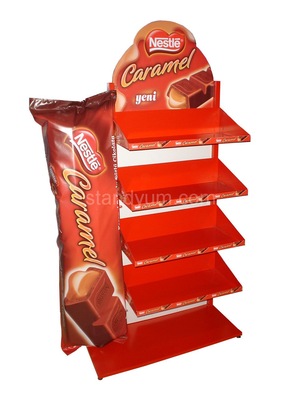 Example image of POP DISPLAY STAND NESTLE CARAMEL
