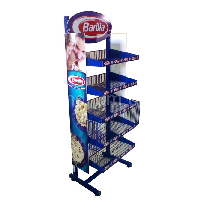 Example image of POP DISPLAY STAND BARILLA