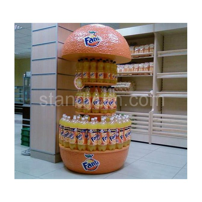 Example image of POP DISPLAY STAND FANTA