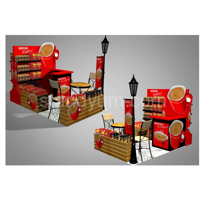 Example image of SHOP IN SHOP STAND NESCAFE